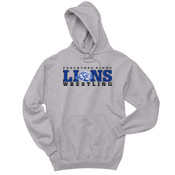 LIONS - 996 Jerzees Adult 8oz. 50/50 Pullover Hooded Sweatshirt