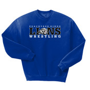 LIONS - 562 Jerzees Adult 8oz. NuBlend® 50/50 Fleece Crew