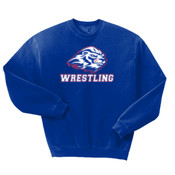 Wrestling - 562 Jerzees Adult 8oz. NuBlend® 50/50 Fleece Crew