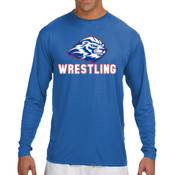 Wrestling - N3165 A4 Long-Sleeve Cooling Performance Crew Neck T-Shirt