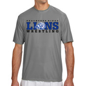 LIONS - N3142 A4 Short-Sleeve Cooling Performance Crew Neck T-Shirt