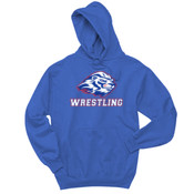 Wrestling - 996Y Jerzees Youth 8oz. NuBlend® 50/50 Pullover Hood