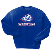 Wrestling - 562B Jerzees Youth 8oz. NuBlend® 50/50 Fleece Crew