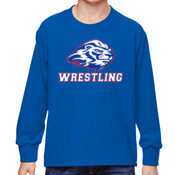 Wrestling - 4930B Fruit of the Loom Youth 5oz. 100% Heavy Cotton HD™ Long-Sleeve T-Shirt
