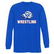 Wrestling - NB3165 A4 Youth Long Sleeve Cooling Performance Crew Shirt