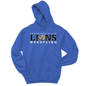 LIONS - 996Y Jerzees Youth 8oz. NuBlend® 50/50 Pullover Hood