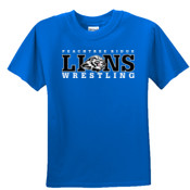 LIONS - 3931B Fruit of the Loom Youth 5oz., 100% Heavy Cotton HD T-Shirt