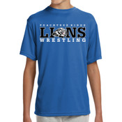 LIONS - NB3142 A4 Youth Shorts Sleeve Cooling Performance Crew Shirt