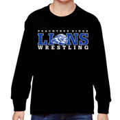 LIONS - 4930B Fruit of the Loom Youth 5oz. 100% Heavy Cotton HD™ Long-Sleeve T-Shirt
