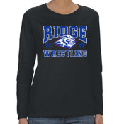 RIDGE - G540L Gildan Heavy Cotton™ Ladies' 5.3oz. Fit Long-Sleeve T-Shirt